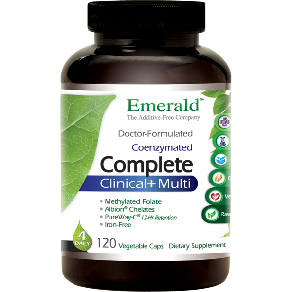 Emerald Labs Complete Clinical+ Bottle