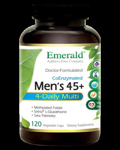 Emerald Men 45+ 4-Daily Multi (120) Bottle