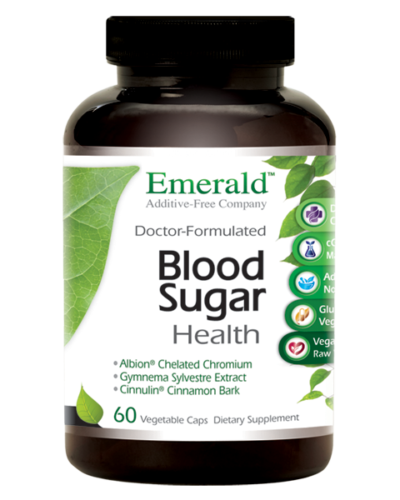 Emerald Blood Sugar Health (60) Bottle