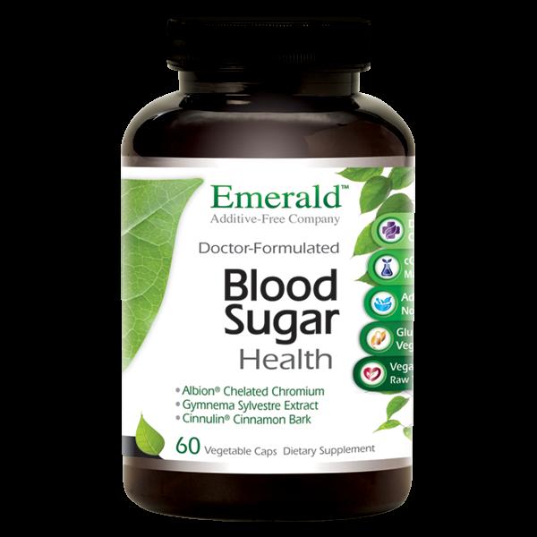 Emerald Blood Sugar Health (60) Bottle