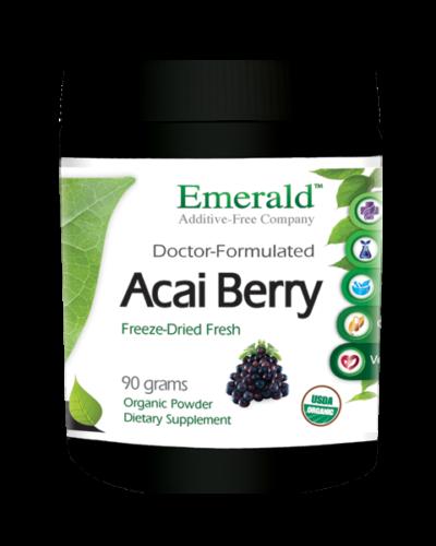 Emerald Acai Berry Powder (90gram) Bottle