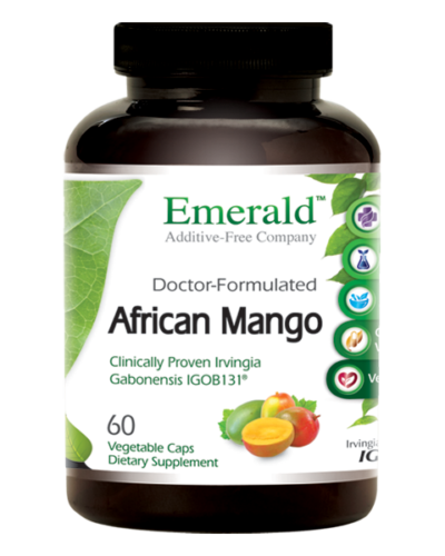 Emerald African Mango (60) Bottle