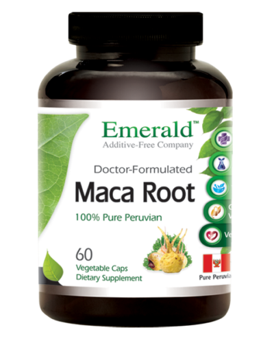 Emerald Maca Root (60) Bottle
