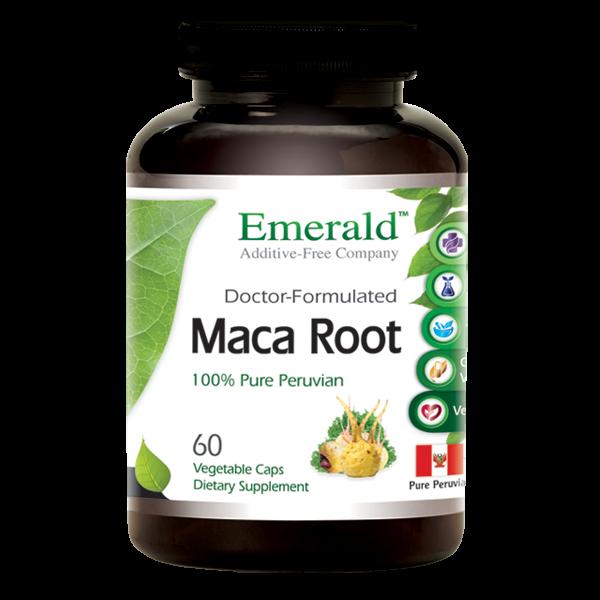 Emerald Maca Root (60) Bottle