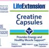 Life Extension Creatine Label