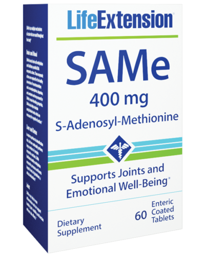 Life Extension SAMe 60 Box