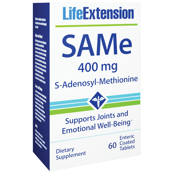 Life Extension SAMe 60 Box
