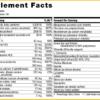 Telovite Supplement Facts