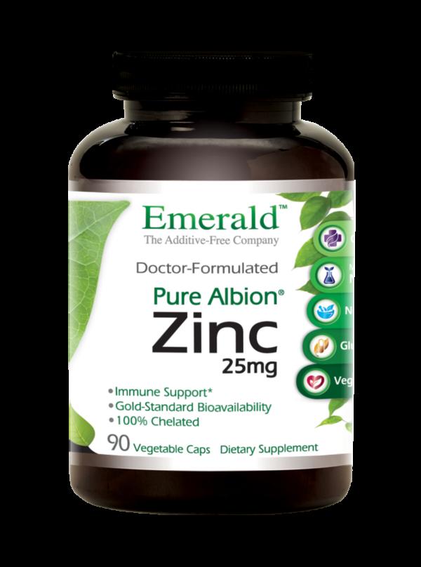 Emerald Labs ZINC Bottle-Front