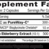 Emerald Elderberry Supp Facts
