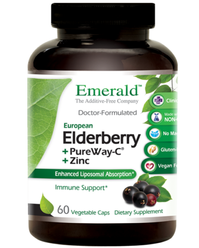 Emerald Elderberry Bottle