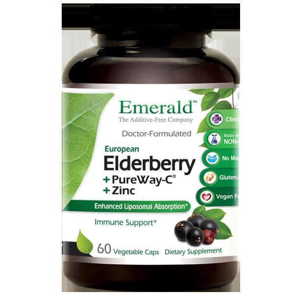 Emerald Elderberry Bottle