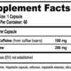 Natural Stacks Smart Caffeine Supp Facts