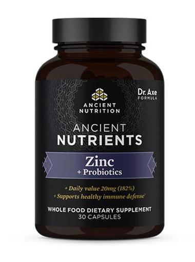 Dr Axe Zinc Plus Bottle